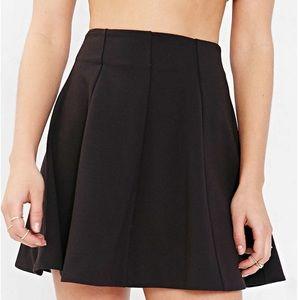 Kimchi Blue Black Flirt with Me Seamed Skirt